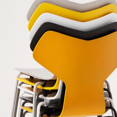 GRAND PRIX™ 3130 Chair, Black Base
