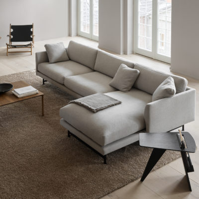 CALMO 3 Seater Chaise 80