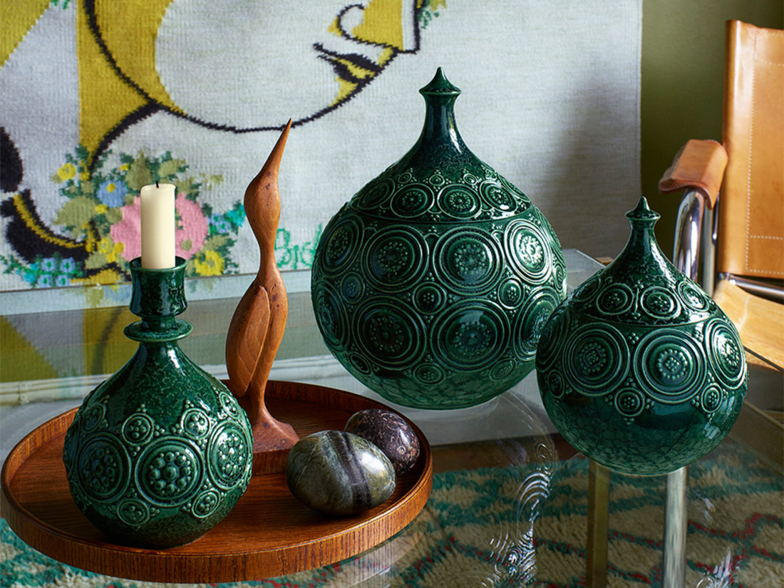 SYMPHONY MAGIC Jar, Dark Green S