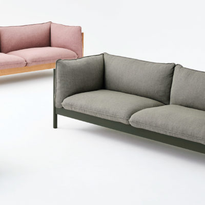 ARBOUR 3 Seater, Lacquered Beech