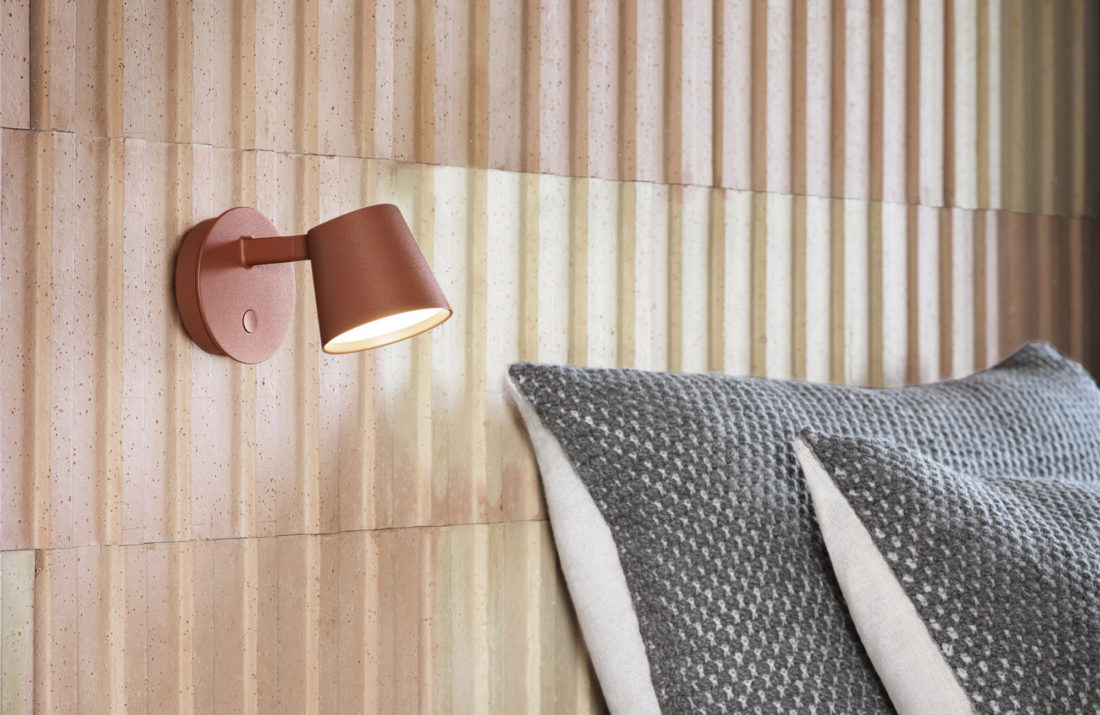 TIP Wall Lamp, Copper Brown