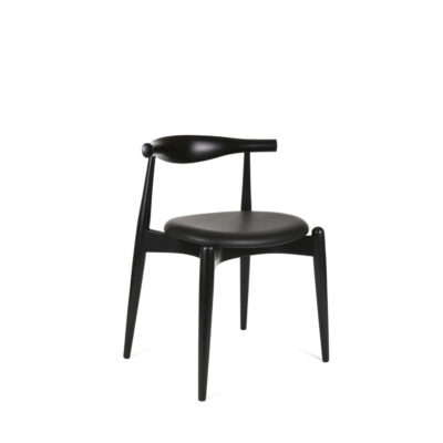 CH20 ELBOW Chair, Oak Black