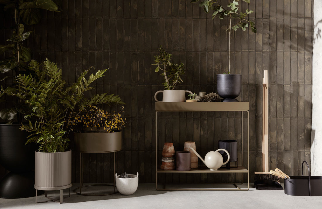 PLANT BOX Two-Tier, Olive