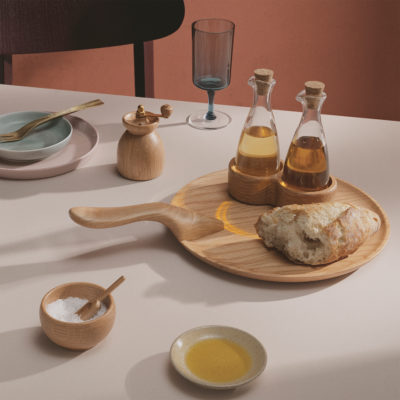 MENAGERI Salt Cellar with Spoon