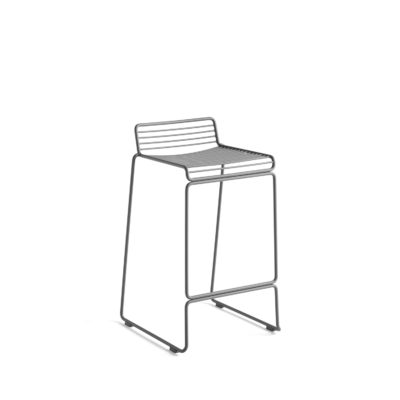 HEE Bar Stool H65, Asphalt Grey
