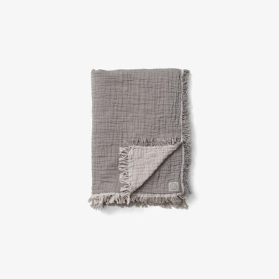 COLLECT THROW SC32, Cloud & Slate