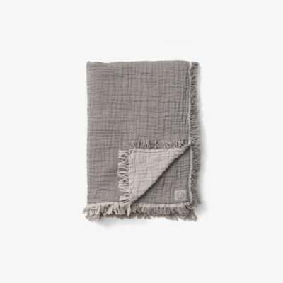 COLLECT THROW SC33, Cloud & Slate