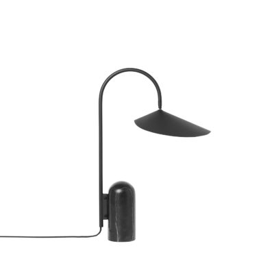 ARUM Table Lamp, Black