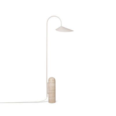 Arum Floor Lamp, Cashmere