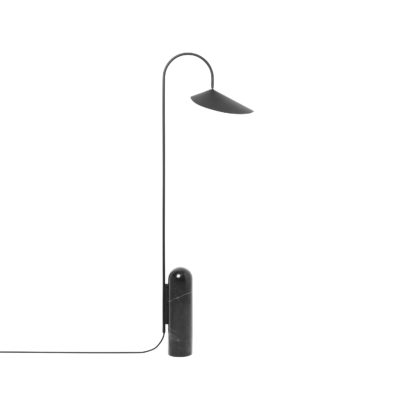 Arum Floor Lamp, Black