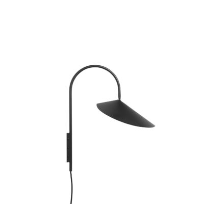 Arum Wall Lamp, Black