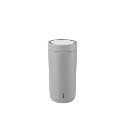 TO GO CLICK Steel 0.4L, Light Grey