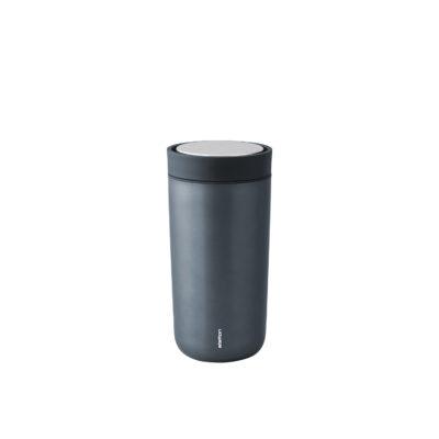 TO GO CLICK Steel 0.4L, Dark Blue Metallic