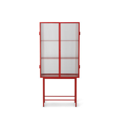 HAZE  Vitrine, Reeded Glass