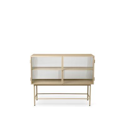 HAZE  Sideboard, Reeded Glass