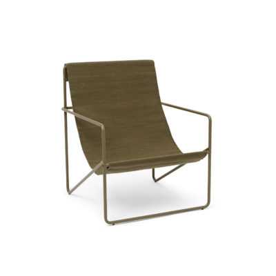 DESERT Lounge Chair, Solid Olive