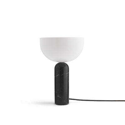 KIZU Table Lamp Black Marble, Large