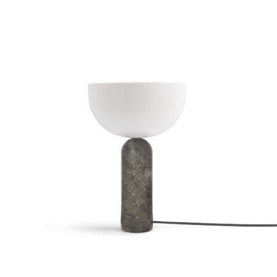 KIZU Table Lamp Gris du Marais Marble, Large