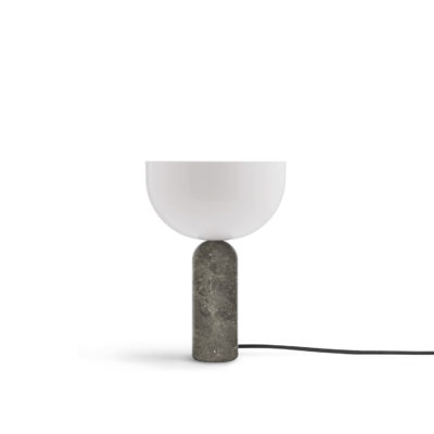 KIZU Table Lamp Gris du Marais Marble, Small