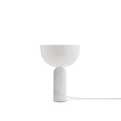 KIZU Table Lamp White Marble, Small