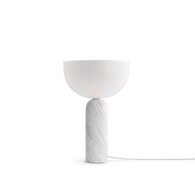 KIZU Table Lamp White Marble, Large