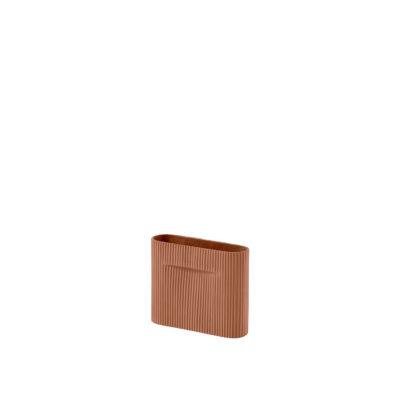 RIDGE Vase XSmall, Terracotta
