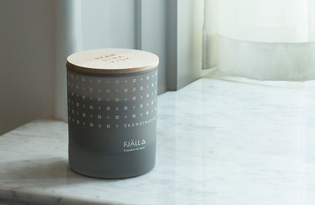FJÄLL Scented Candle