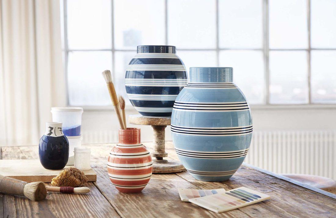 OMAGGIO Nuovo Vase Terracotta