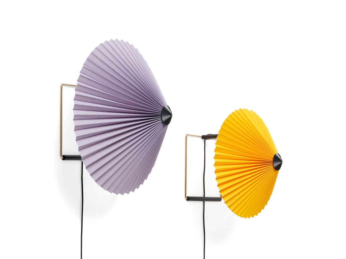 MATIN Wall Lamp S, Lavender