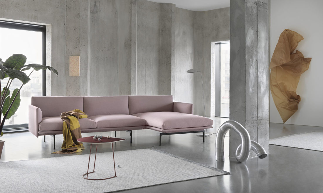 OUTLINE Sofa, Chaise Longue